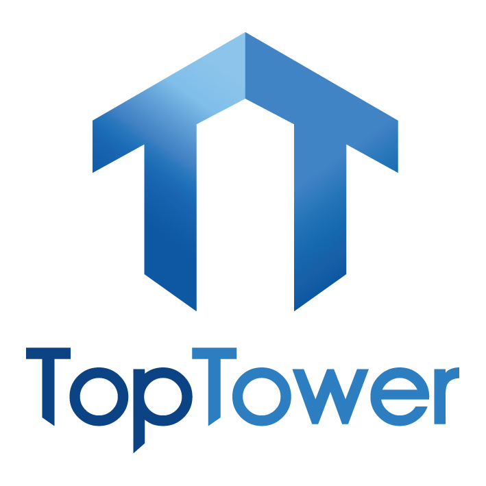 Pair Alloy Tower Adjustable Legs & Castors